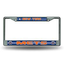 License Plate Frame with Bling - New York Mets