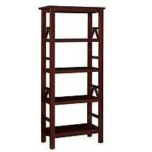 Linon Home Thomas Bookcase - Antique Tobacco