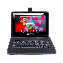 LINSAY IPS Tablet with Android 10 and Keyboard Case