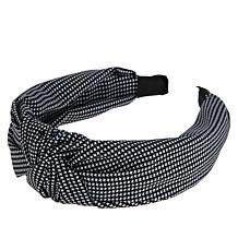 Locks & Mane Gingham Knotted Headband