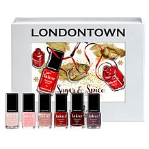 Londontown Sugar and Spice Nail Lacquer Mini 6-piece Set
