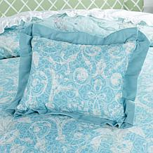 Madcap Cottage Evening in Shalimar Oblong Pillow