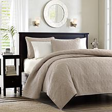 Madison Park Quebec King/Cal King Quilted Coverlet Set