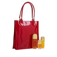 Marilyn Miglin Pheromone to Take Anywhere Set with Red Tote