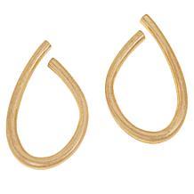 MarlaWynne Abstract Circle Drop Earrings