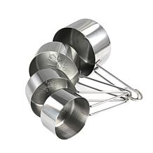 Martha Stewart Stainless Steel Measuring Cups