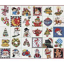 Mary Engelbreit Ornaments 30pc Counted Cross Stitch Kit