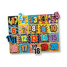 Melissa & Doug Jumbo Numbers Chunky Puzzle