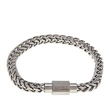 Men's Stainless Steel Franco Chain Magnetic Bracelet