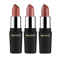Mented 3-piece Semi-Matte Lip Set
