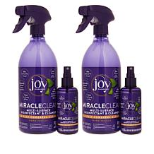 MiracleClean™ Fast & Powerful 4-piece Disinfect & Clean Set