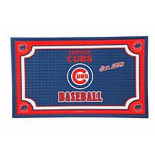 MLB Embossed Door Mat - Chicago Cubs