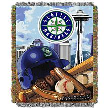 MLB Home Field Advantage Tapestry Throw - Mariners