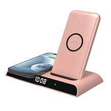 mophie Wireless Charging Dock with 10000mAh Power Bank