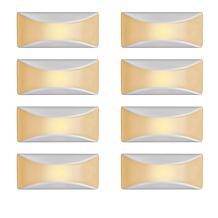 Mr. Beams Dusk-to-Dawn Amber LED Light 8-pack