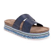 MUK LUKS® Women's Beach Blanket Platform Sandal