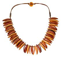 "Natural Beauties Tribal-Look 27-1/2"" Necklace"