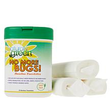 Naturally  Green No More Bugs! 100-count Bamboo Wipes
