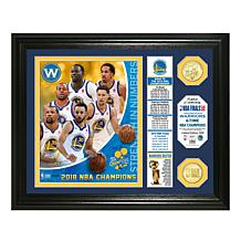 Nba Men's Golden State Warriors Court Tek Patch Short Sleeve Tee