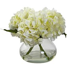 Nearly Natural Blooming Silk Hydrangea Arrangement
