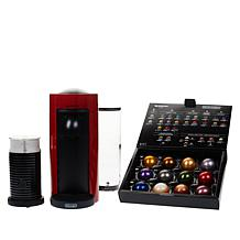 Nespresso VertuoPlus Coffee Maker with Milk Frother & Coffee Voucher