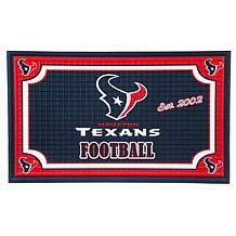 NFL Embossed Door Mat - Texans