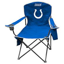NFL Quad Chair with Armrest Cooler - Colts