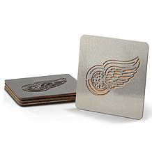 NHL Boasters 4-piece Coaster Set - Detroit Red Wings