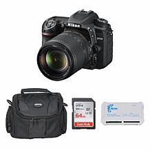 Nikon D7500 DSLR Camera with 18-140mm Lens Bundle