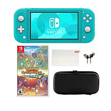 Nintendo Switch Lite with Pokemon Mystery Dungeon Rescue Team & Case