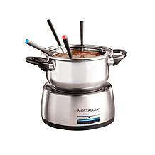 Nostalgia Stainless Steel Electric Fondue Pot