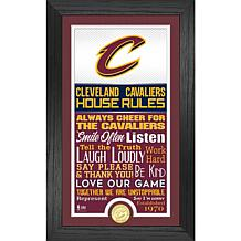 Officially Licensed Cleveland Cavaliers House Rules Coin Photo Mint