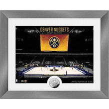 Officially Licensed Denver Nuggets Art Deco Silver Coin Photo Mint