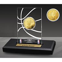 Officially Licensed Miami Heat 3x Champs Gold Coin Desktop Display