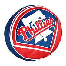 """Officially Licensed MLB 148 Travel Cloud 15"""" Pillow - Phillies"""