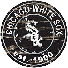 "Officially Licensed MLB 24"" Established Date Sign - Chicago White Sox"