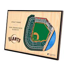 Officially-Licensed MLB 3D StadiumViews Display - San Francisco Gia...
