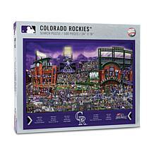 Officially Licensed MLB Joe Journeyman Puzzle - Colorado Rockies