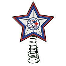 Officially Licensed MLB Mosaic Tree Topper - Blue Jays