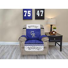 Officially Licensed MLB  Recliner Furniture Protector - Rockies