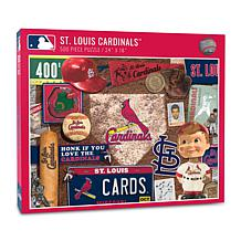 Officially Licensed MLB St. Louis Cardinals Retro 500-Piece Puzzle