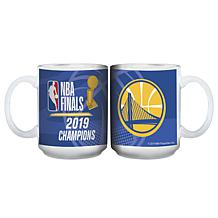 Officially Licensed NBA 2019 Champs 15 oz. Ceramic Mug - White