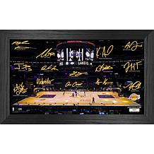 Officially Licensed NBA 2021 Signature Court - Los Angeles Lakers