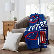 Officially Licensed NBA  Black Top Raschel - Los Angeles Clippers
