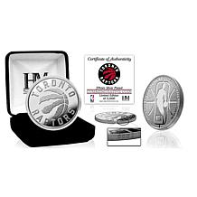 Officially Licensed NBA Silver Mint Coin - Toronto Raptors