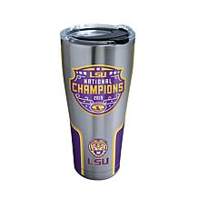 Officially Licensed NCAA  2019 National Champs 30oz. Tumbler w/Lid-LSU
