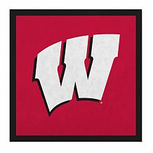 """Officially Licensed NCAA 23"""" Felt Wall Banner - Wisconsin"""