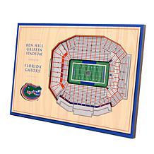 Officially Licensed NCAA 3-D Desktop Display - Florida Gators
