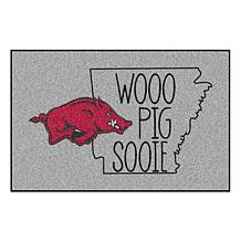 Officially Licensed NCAA Southern Style Rug - University of Arkansas