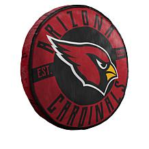 "Officially Licensed NFL 15"" x 15"" Round Team Logo Pillow"